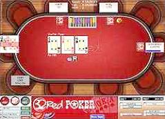 The Texas Holdem table at 32Red Poker - click to visit the 32Red Poker site