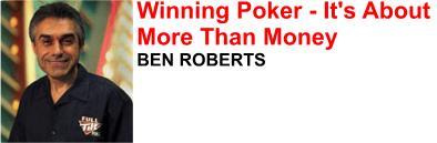 Ben Roberts poker pro
