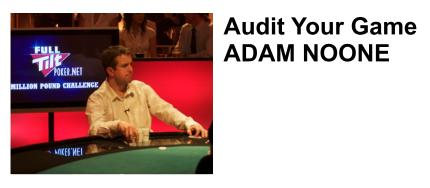 Professional poker tips and player advice