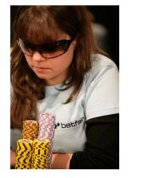 Annette 15, European poker professional