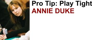 Professional poker player Annie Duke