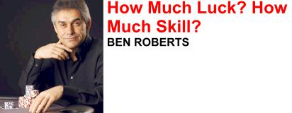 UK based Ben Roberts is predominately a cash game player