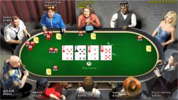 The Texas Holdem table at Betsson Poker - a great Ongame Poker Network site - click to visit Betsson