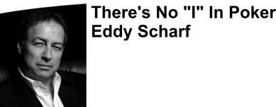 Eddy Schaft professional poker player