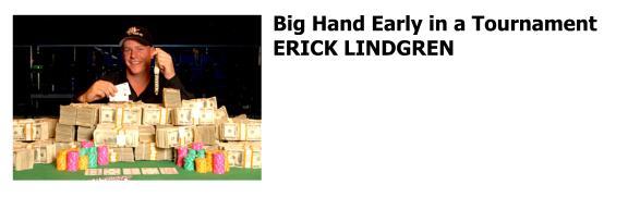 Erick Lindgren poker professional