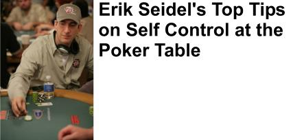 Erik Seidel plays online poker at FullTiltPoker.com