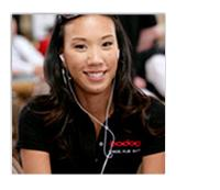 Evelyn Ng - pro poker player and member of team Bodog