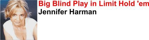 Jennifer Harman - the most recognisable female poker pro?