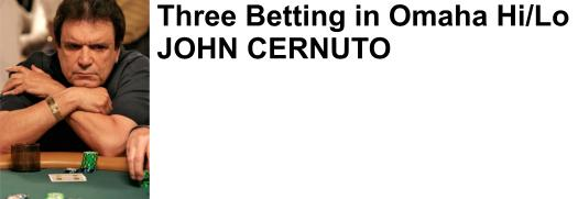 John Cernuto professional poker player