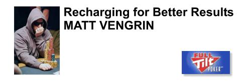 Matt Vengrin up and coming professional poker player