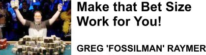 Greg Raymer aka Fossilman