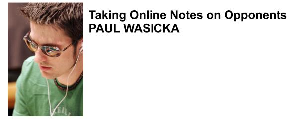 Paul Wasicka plays online at FullTiltPoker.com