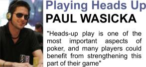 Paul Wasicka professional poker player