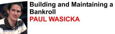 Paul Wasicka - team fulltilt poker professional