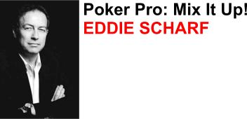 Eddy Scharf is one of Germanys top professional poker players and a member of Team FullTilt