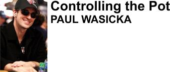 Paul Wasicka - professional poker player